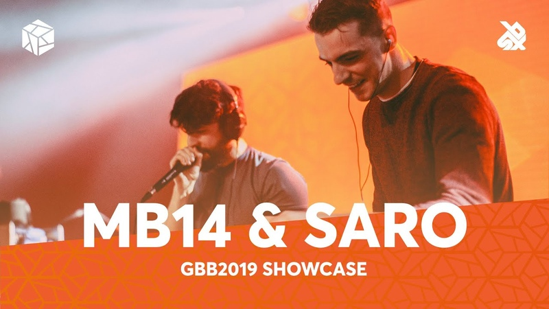 MB14 SARO Boss Rc 505 Artist Week Grand Beatbox Battle Showcase 2019