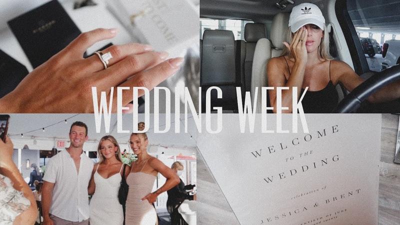 Vlog WEDDING WEEK wedding prep writing vows *emotional*