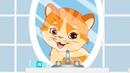 Котик – Песенки про животных - Тыр тыр трактор – Мультики про кота – Рыжий кот