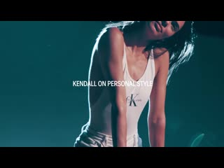 Behind The Scenes with Kendall Jenner   CALVIN KLEIN