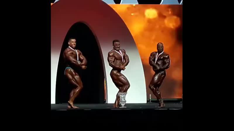 ТОП 3 категории до 212 фунтов Олимпия 2019
