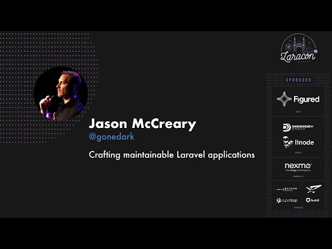 Jason McCreary Crafting maintainable Laravel applications