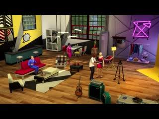 Трейлер дополнения moschino для the sims 4.
