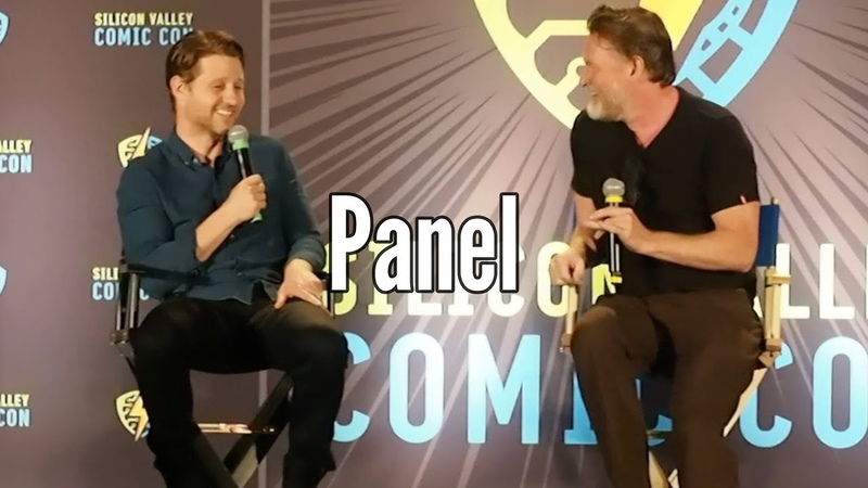 Ben McKenzie Donal Logue Gotham Panel - Silicon Valley Comic Con 2019
