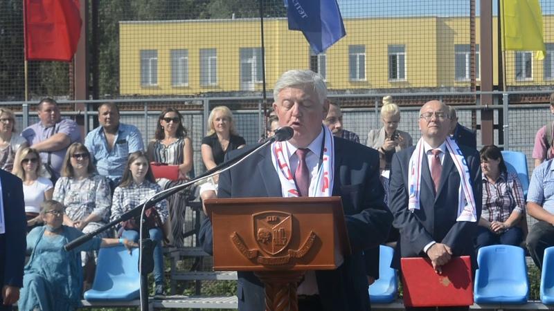 Поздравление ректора БГТУ Игоря Войтова первокурсникам