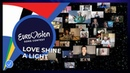 Love Shine A Light performed by the artists of Eurovision 2020 - Eurovision Europe Shine A Light