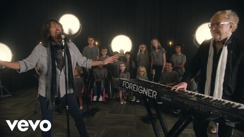 Foreigner - I Want to Know What Love is (featuring Shriners Hospitals Kids Choir)