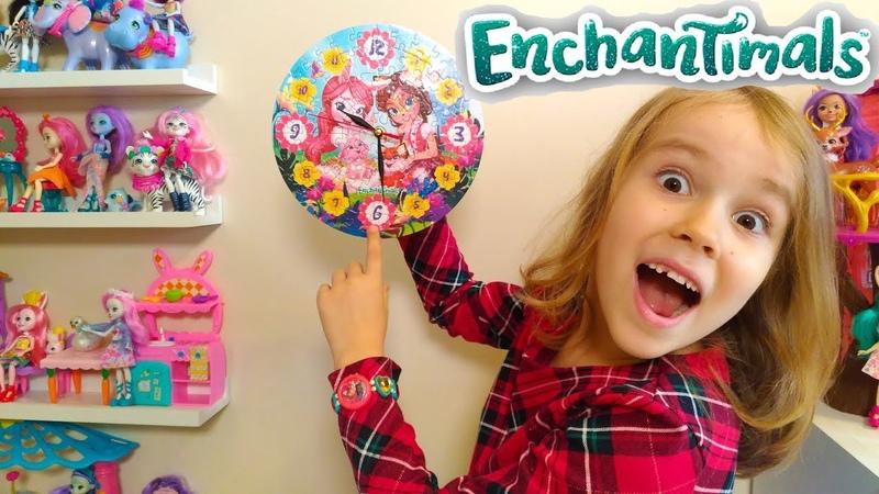 Мультик Куклы Enchantimals спешат в Энчантималс Кафе Пикки Какаду Pretty Katy Queen
