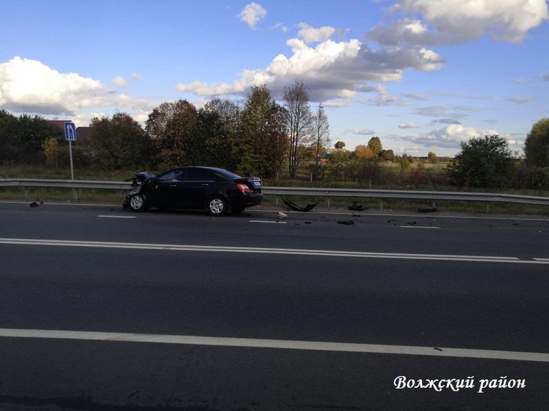 В минувшие три дня в Марий Эл произошли 9 ДТП, в том числе вблизи Волжска