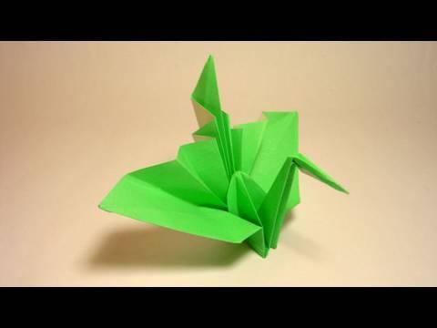 Origami Tsuru variation