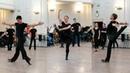 Репетиция аргентинского танца Маламбо. Балет Игоря Моисеева.