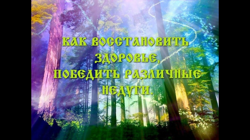 КАК ВОССТАНОВИТЬ ЗДОРОВЬЕ, ЛЕЧЕНИЕ (Трехлебов А.В 2009,2010,2011,2012,2013,2013,2014 2019,2020,2021)