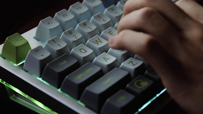 ASMR 기계식 키보드 타이핑 사운드 아트박스 흑축 Mechanical Keyboard Typing Sound Box Black