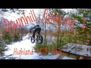 Biggest Drops We've ever hit on Fatbikes Downhill Fatbiking 2 at Highland MTB Park