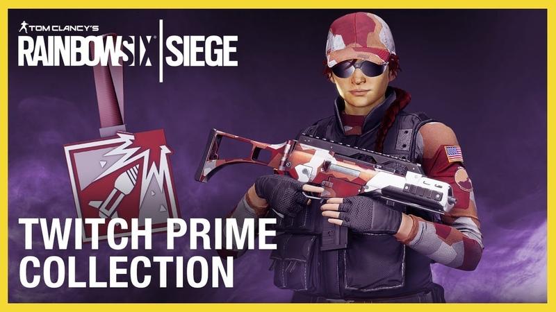 Rainbow Six Siege: Twitch Prime Bundle 2019 New on the Six Ubisoft NA