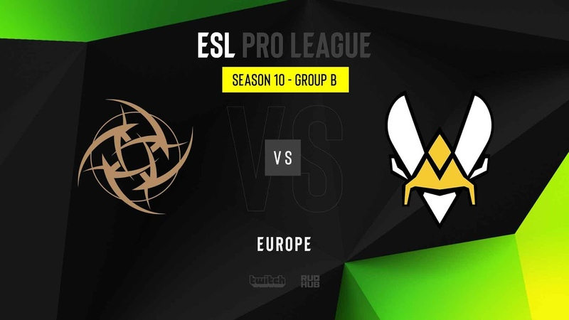 NiP vs Vitality - ESL Pro League Season 10 EU - map1 - de_overpass [Gromjkee Eiritel]