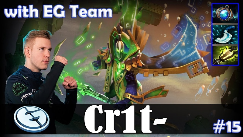 Crit - Rubick Roaming | with EG Team | Dota 2 Pro MMR Gameplay 15