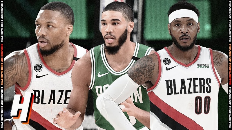 Boston Celtics vs Portland Trail Blazers - Full Game Highlights August 2, 2020 NBA Restart