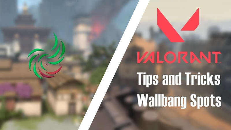 VALORANT Tips and Tricks Wallbanging Spots