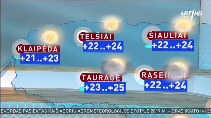 LRT HD - фрагмент прогноза погоды, анонс, соц.реклама, промо (12.06.2020)