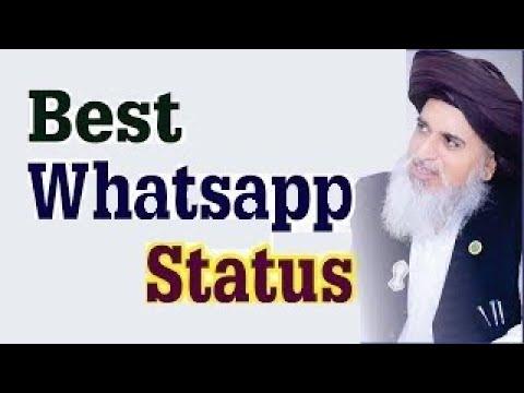 Allama Iqbal Poetry By Allama Khadim Hussain Rizvi Whatsapp Status