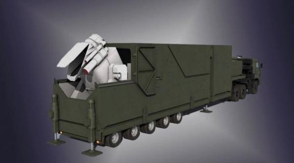 Чертеж лазерного грузовика «Пересвет». (Предоставлено: Военное обозрение)