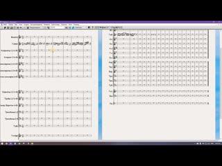 Урок 3. Легато, штрихи, повторы, затакт Sibelius 6