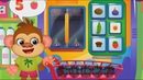 Учимся считать. Математика для детей 4 лет. Смешная еда. Детские мультики