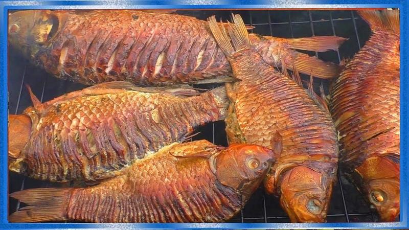 КАРАСИ ГОРЯЧЕГО КОПЧЕНИЯ БЕЗ КОСТЕЙ ЭТО РЕАЛЬНО рецепт из рыбы от fisherman dv 27 rus