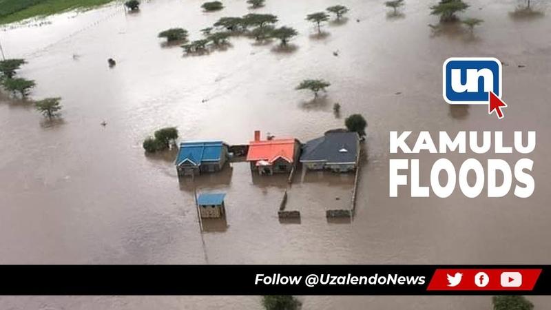 Ruai Kamulu Houses Submerged In Water Nairobi Floods
