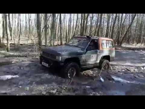 подготовка трассы к трофи рейду кинчик от Кастяныча 7 04 2018 ч2