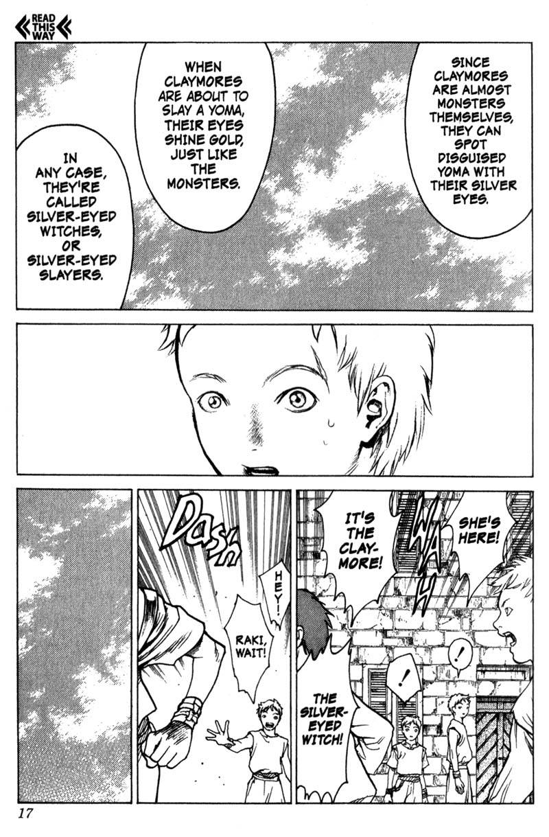 Claymore, Chapter 1, image #17