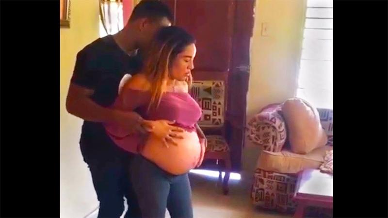 Bailando Bachata Embarazada Yelena y Jeancarlo Si No Me Amas Ala Jaza Republica Dominicana