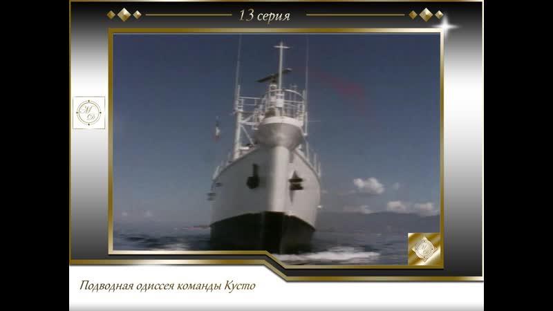 Подводная одиссея команды Кусто Выпуск 13 Живое море 1970