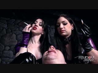 Mina thorne - filth mouth [femdom, ashtray, smoke, humiliation]