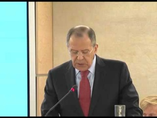 Выступление С.Лаврова на заседании СПЧ