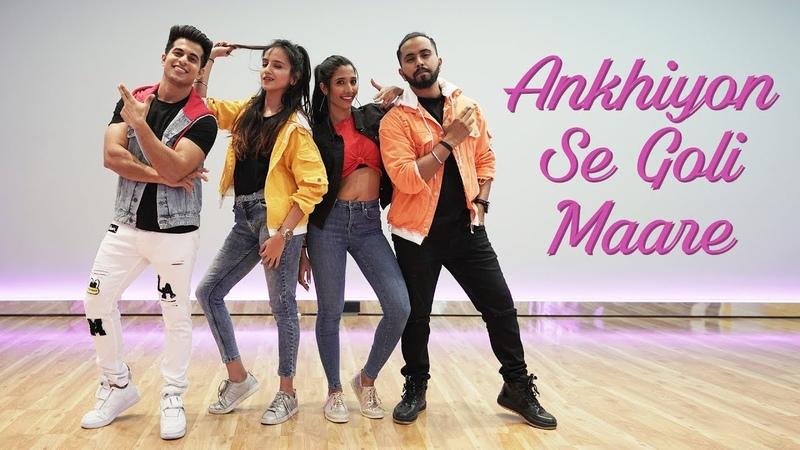 Ankhiyon Se Goli Marey Aadil Khan Choreography ft Tejas dhoke ishpreet dhang Krutika Solanki
