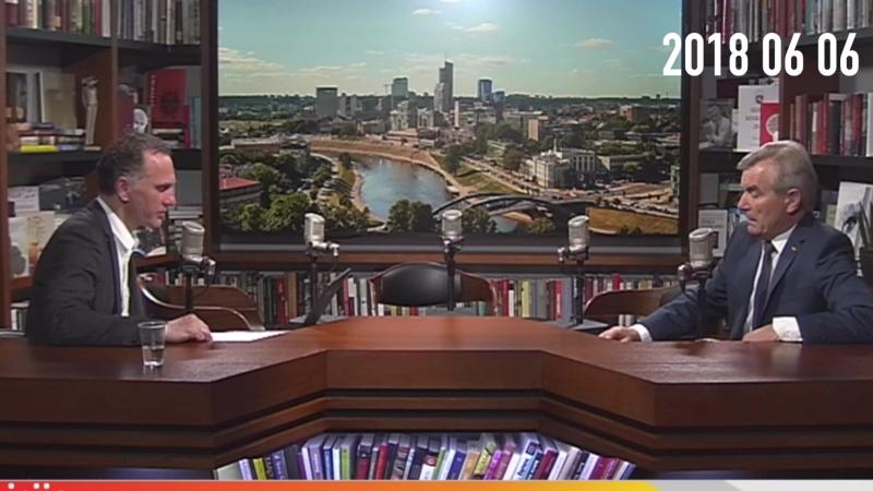 Seimo pirmininkas Viktoras Pranckietis atsiliepdamas į Vytauto Vyšniausko kalbą Sąjūdžio 30 mečio minėjime Seime pridedu koment