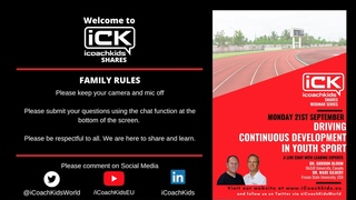 iCoachKids Share #15 - Driving Continuous Improvement in Youth Sport