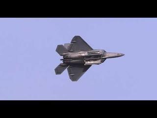 F-22 Raptor Demo Team Practice Jan 22, 2021