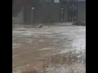 Несколько районов Дагестана затопило из-за проливных дождей