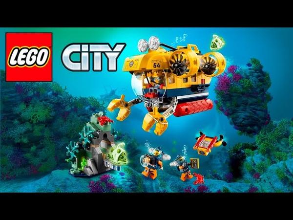 Lego City 60264 Ocean Exploration Submarine Speed Build Review