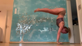 Sharing my Personal Advanced Training  Part 1  - Yoga and Fitness with Rhyanna