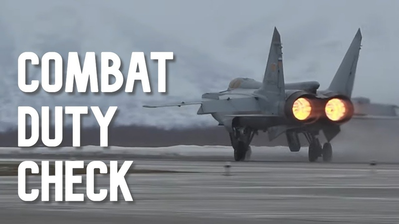 Combat duty check: MiG-31 intercepts simulated aggressor in Russian airspace