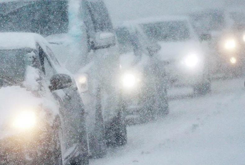 С 15 января в Таганроге прогнозируется ухудшение погодных условий: снег, метель, понижение температуры