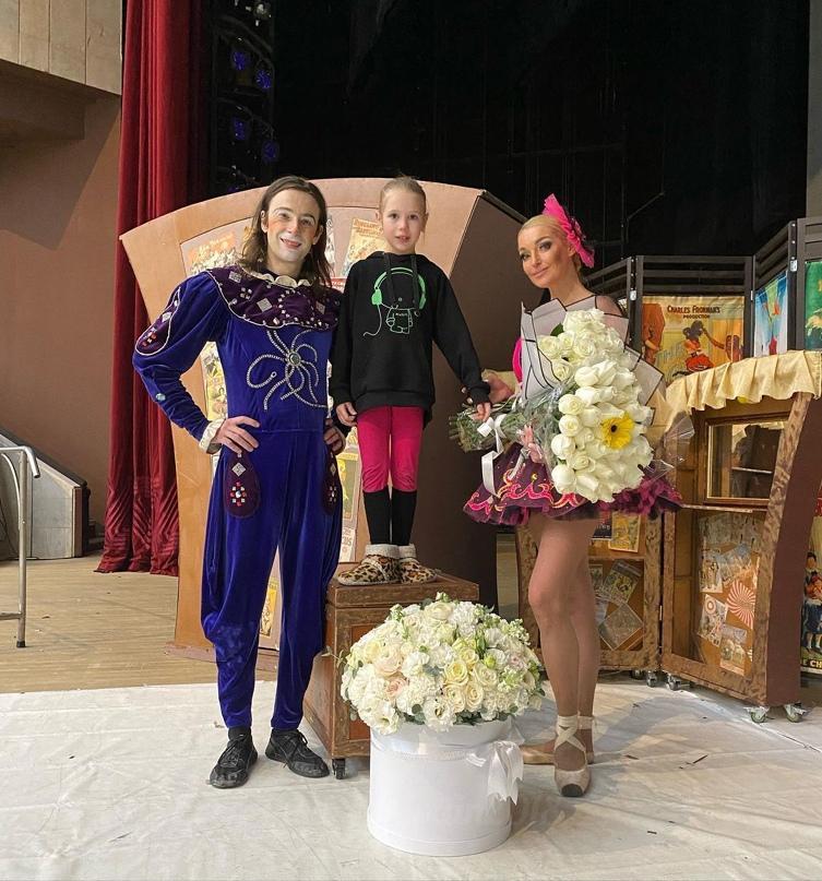 """Вот и состоялся наш спектакль """"Балерина в зазеркалье цирка""""..."""