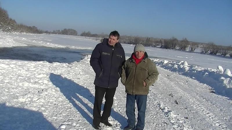 04061 В Соусканихе на протоке реки Бия 4 6 января