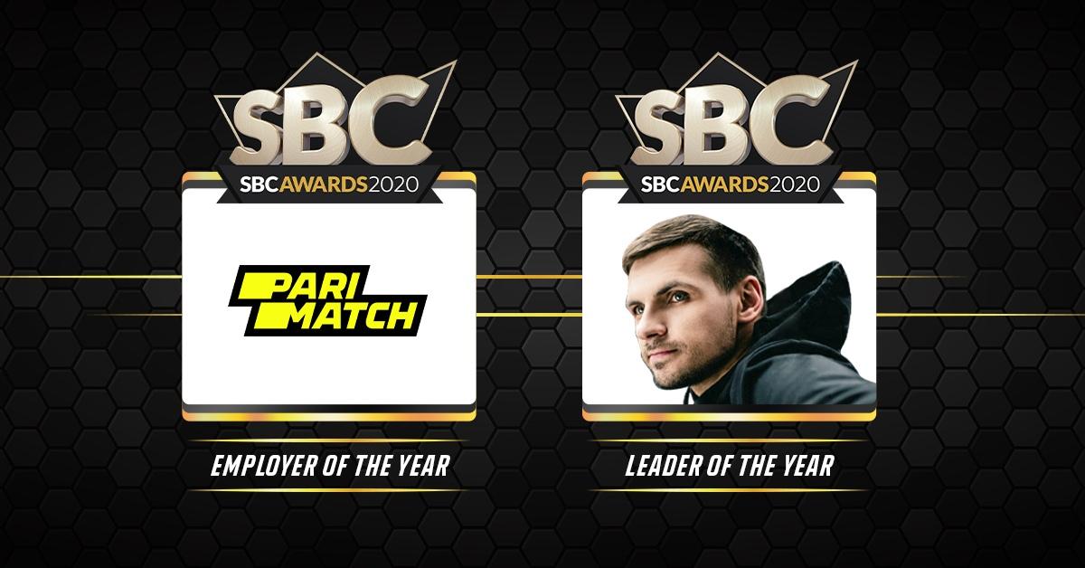 Parimatch победил в двух номинациях на SBC Awards 2020