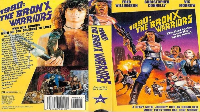 1990 Воины Бронкса 1990 I guerrieri del Bronx 1982 HD 720р Перевод ДиоНиК