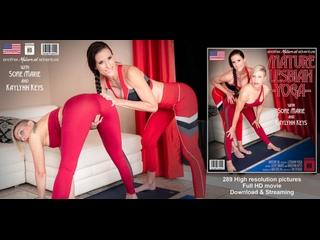 Kaylynn Keys (40) Sofie Marie (41) - Welcome to Mature Lesbian Yoga with Sofie Marie and Kaylynn Keys